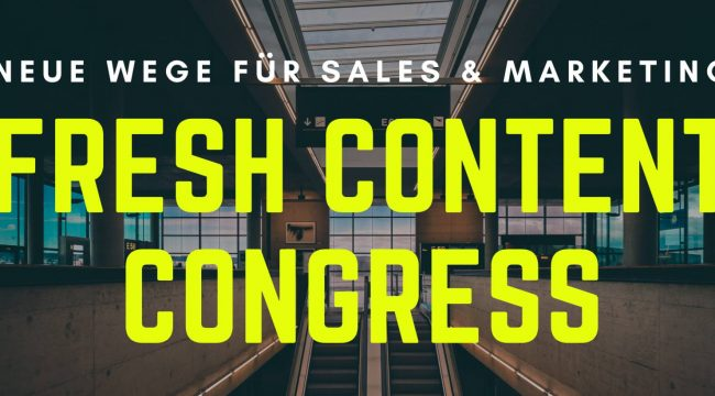 Fresh Content Congress