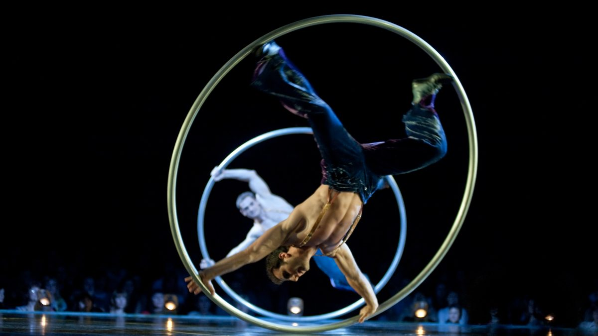 Cyr Wheel_Lucas Saporiti Costumes Dominique Lemieux 2015 Cirque du Soleil Photo 1-min