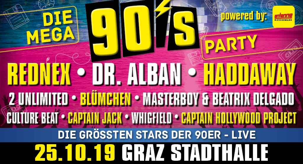 Die Mega 90s Party MCG